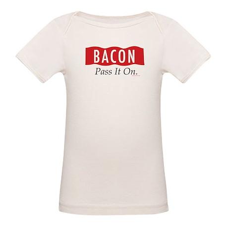 Bacon: Pass It On. Organic Baby T-Shirt