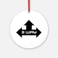 3 way Ornament (Round)