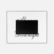 Always Kiss Me Goodnight Picture Frame