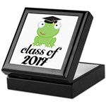 Class of 2017 Frog Keepsake Box
