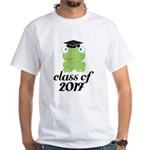 Class of 2017 Frog White T-Shirt