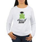 Class of 2017 Frog Women's Long Sleeve T-Shirt