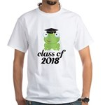 Class of 2018 Frog White T-Shirt