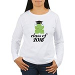 Class of 2018 Frog Women's Long Sleeve T-Shirt