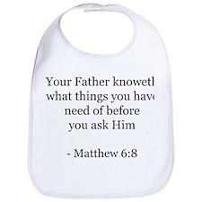 Matthew 6:8 Bib