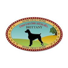 Brittany 22x14 Oval Wall Peel