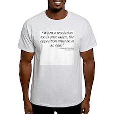 Federalist 70 Ash Grey T-Shirt