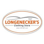 Longenecker's Sticker (oval)
