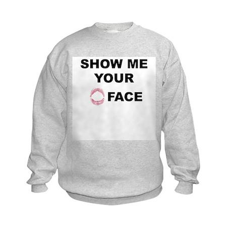 O Face Kids Sweatshirt