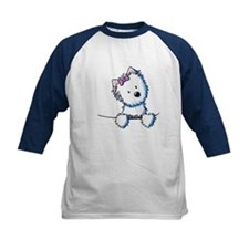 Pocket Westie Girl Tee
