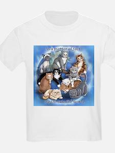 Cats Rule Kids T-Shirt