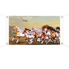 Wild Horses Herd Banner
