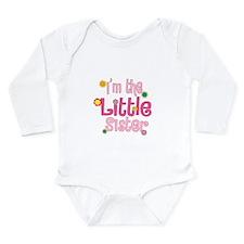 LittleSister2.png Long Sleeve Infant Bodysuit