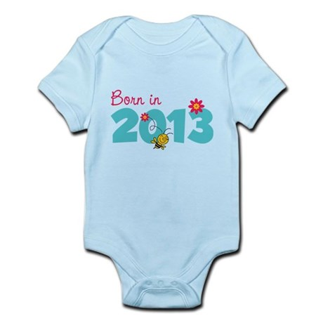 Born in 2013 Infant Bodysuit