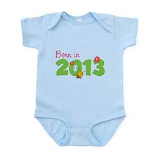 Born in 2013 Infant Bodysuit