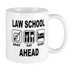 Law School Ahead Mug