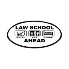 Law School Ahead Patches