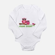 Little sister Long Sleeve Infant Bodysuit