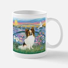 Lilies / Papillon (f) Mug