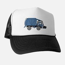 GarbageTruckBlue.png Trucker Hat