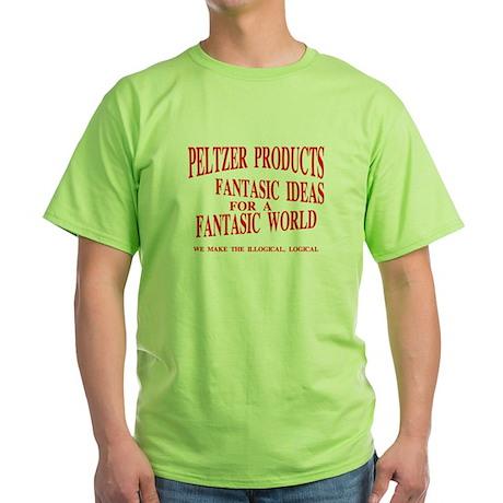PELTZER PRODUCTS Green T-Shirt