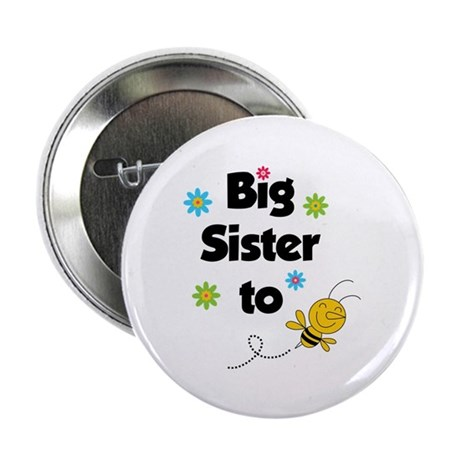 """Big sister to be 2.25"""" Button (100 pack)"""