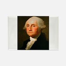 Founding Fathers: George Washington Rectangle Magn