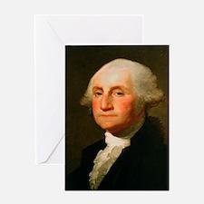 Founding Fathers: George Washington Greeting Card