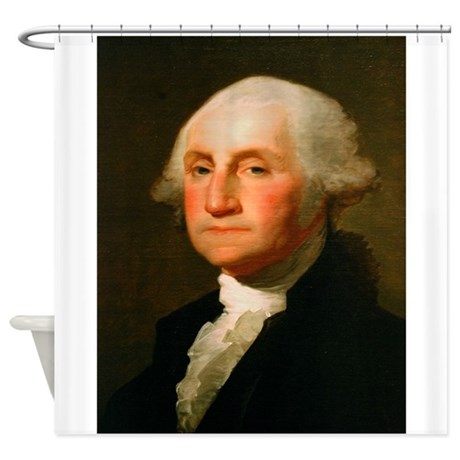 Founding Fathers: George Washington Shower Curtain