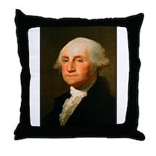 Founding Fathers: George Washington Throw Pillow