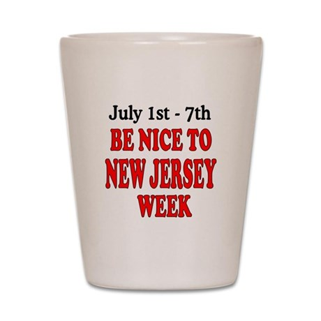 NJ Week Shot Glass