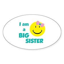 I am a big sister Decal