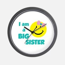I am a big sister Wall Clock