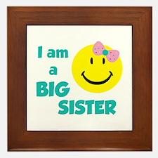 I am a big sister Framed Tile