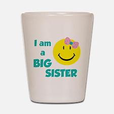 I am a big sister Shot Glass