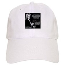 Pope Wiser 2 Quote Baseball Cap
