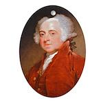 Founding Fathers: John Adams Ornament (Oval)