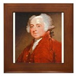 Founding Fathers: John Adams Framed Tile