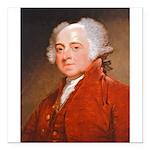 Founding Fathers: John Adams Square Car Magnet 3