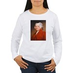 Founding Fathers: John Adams Women's Long Sleeve T