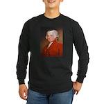 Founding Fathers: John Adams Long Sleeve Dark T-Sh