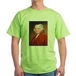 Founding Fathers: John Adams Green T-Shirt