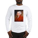 Founding Fathers: John Adams Long Sleeve T-Shirt