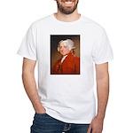Founding Fathers: John Adams White T-Shirt