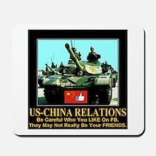 US-China Relations Mousepad