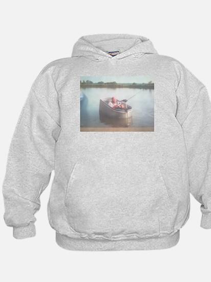Hillbilly Bass Boat Hoodie