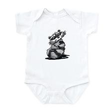 Bashful Raccoon Infant Bodysuit