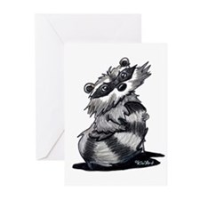 Bashful Raccoon Greeting Cards (Pk of 10)