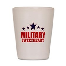 Military Sweetheart Shot Glass