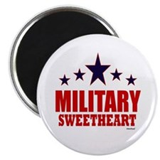 """Military Sweetheart 2.25"""" Magnet (10 pack)"""